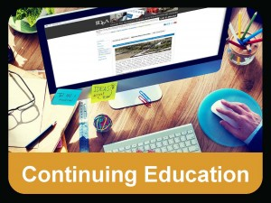continuing education button