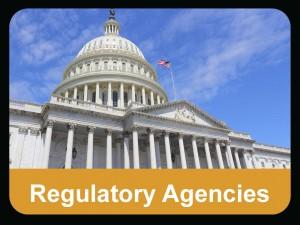 regulatory agencies button